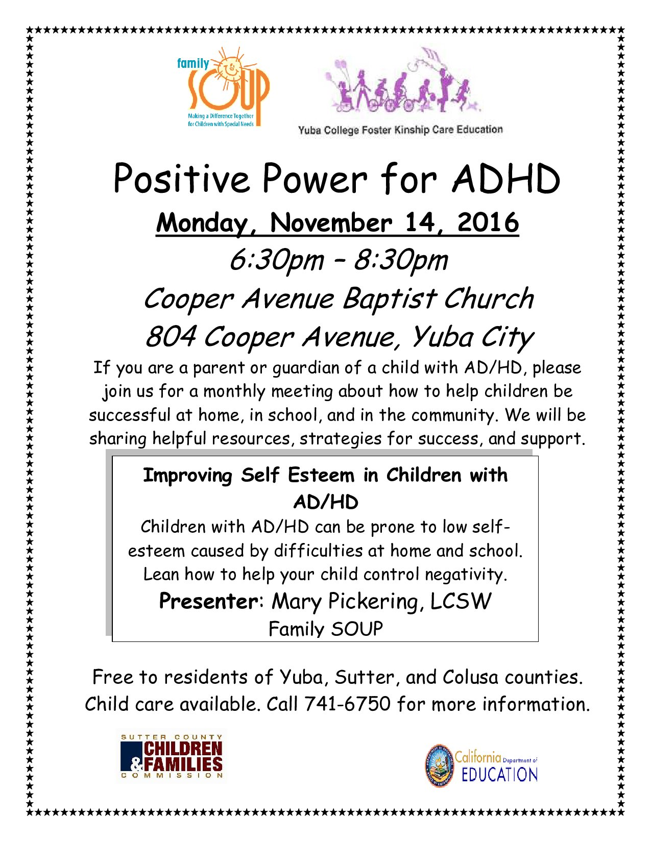 Positive Power for ADHD
